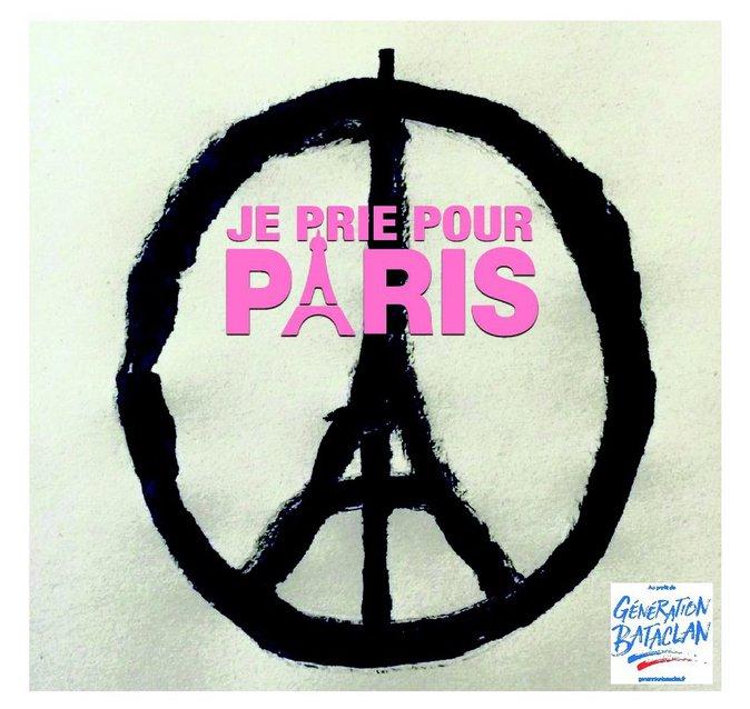 """Single """"Je prie pour paris"""""""