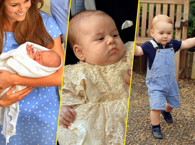George de Cambridge : le petit prince fête ses 1 an aujourd'hui... Retour en photos sur les moments forts de sa première année !