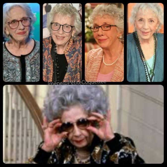 Grand-mère Yetta est morte...