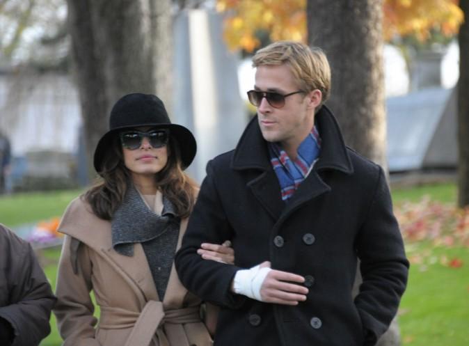 Ryan Gosling et Eva Mendes, plus sur la même longueur d'ondes...