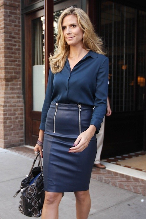 Heidi Klum : mais qu'est-ce que ce petit ventre rond ?