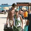 Helena et Zlatan se détendent en vacances avant l'arrivée de leur second enfant