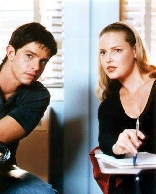 Katherine Heigl et Jason Behr (Rosewell)