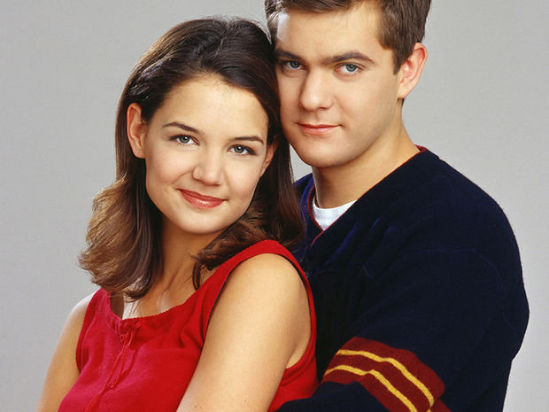 Katie Holmes et Joshua Jackson (Dawson)