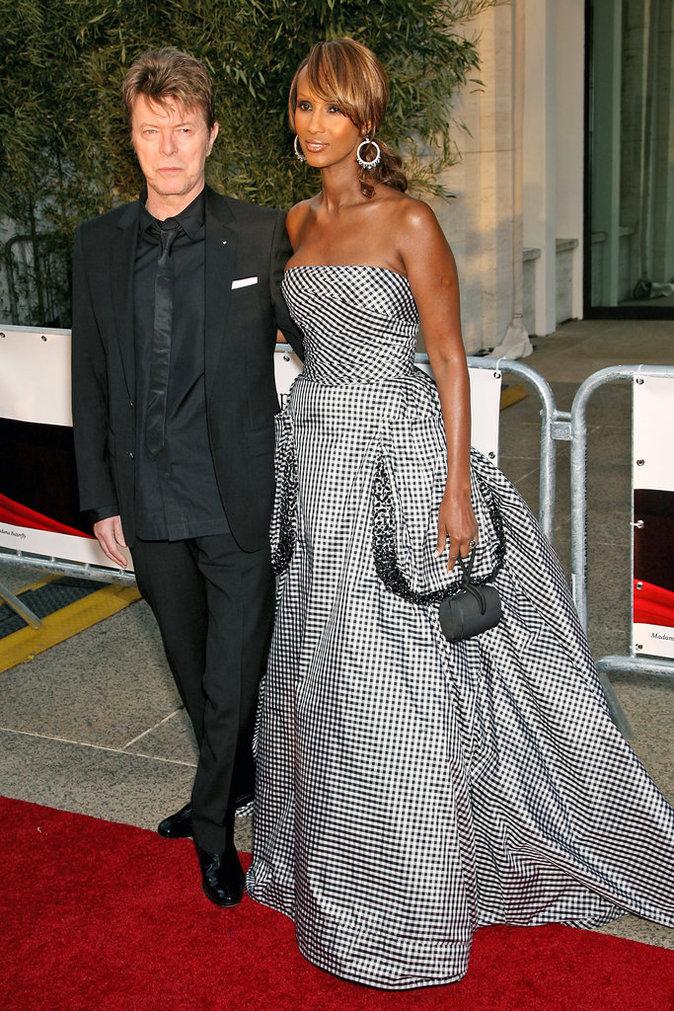 Iman et David Bowie, à la soirée d'ouverture de la saison 2006-2007 du Lincoln Center Metropolitan Opera à New York, le 25 septembre 2006