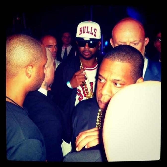 Jay-Z à L'Arc, le 2 juin 2012.