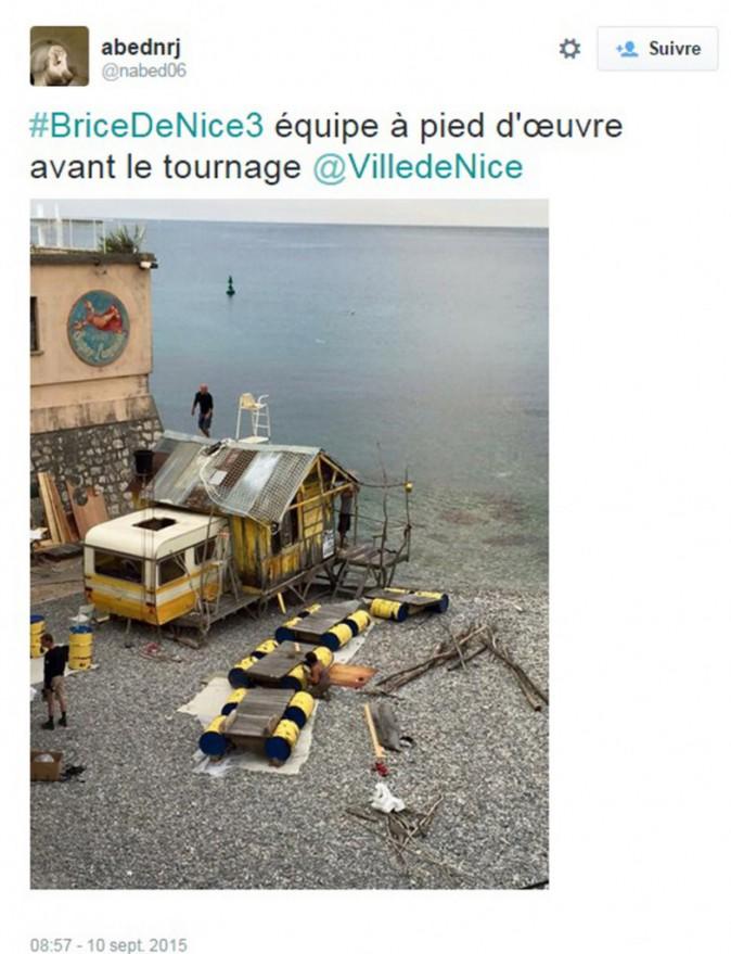 Le décor de Brice de Nice 3 est en place