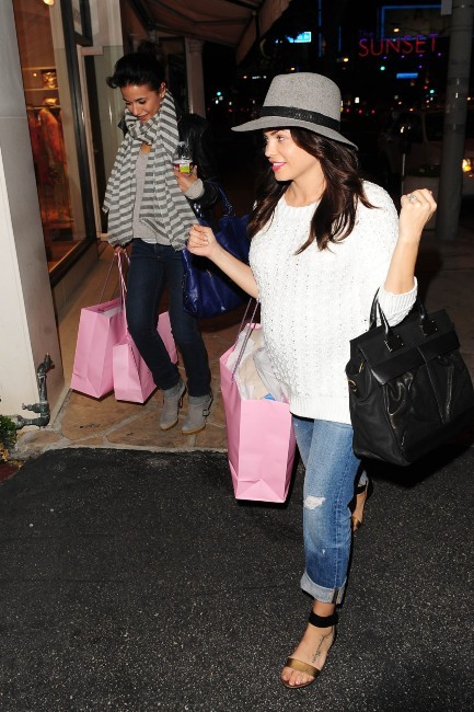 Jenna Dewan et Emmanuelle Chriqui, Los Angeles, 7 mars 2013.
