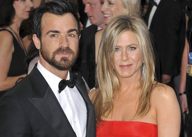Depuis 2011, elle file le parfait amour avec son fiancé Justin Theroux
