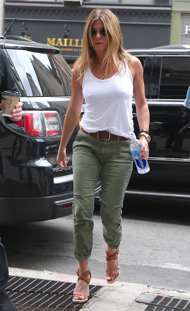 Jennifer Aniston, enceinte? On a du mal à y croire!