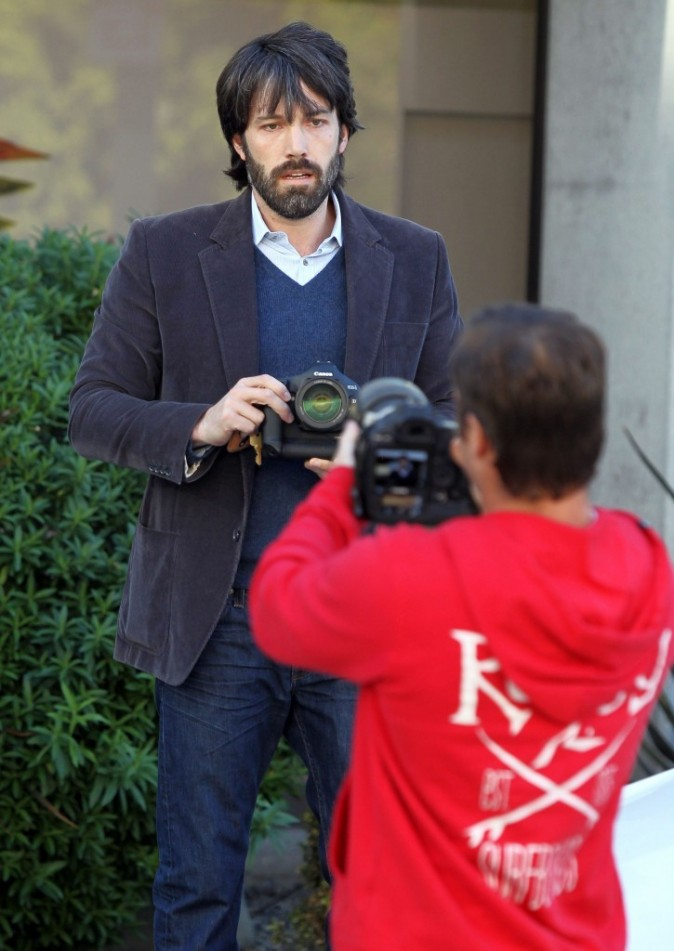 Ben Affleck photographie les photographes...