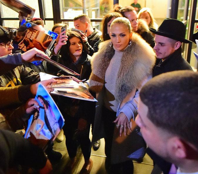Jennifer Lopez a pris du temps pour ses fans