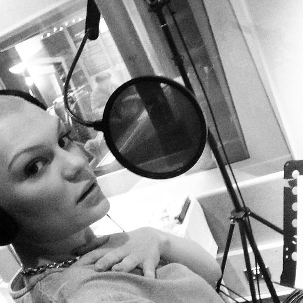 Jessie J en backstage