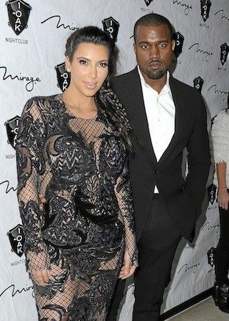 8 : Kim Kardashian et Kanye West