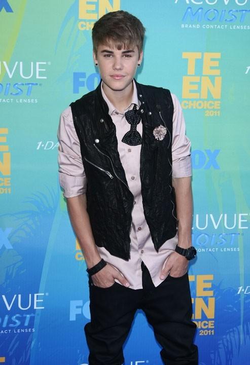 Le style Justin Bieber est lui aussi très travaillé et unique en son genre...