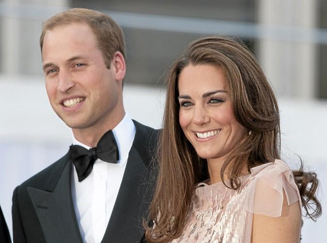 Kate Middleton et le Prince Williams.