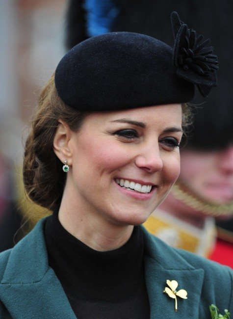 Kate Middleton le 18 mars 2013