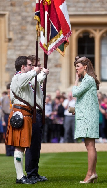 Kate Middleton le 21 avril 2013