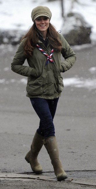 Kate Middleton le 22 mars 2013