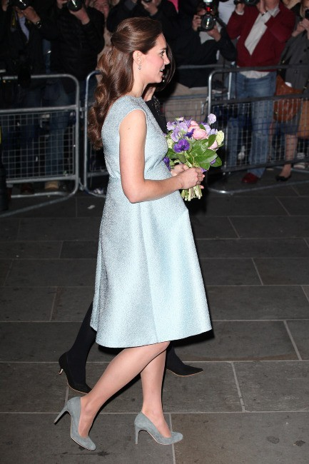 Kate Middleton le 25 avril 2013