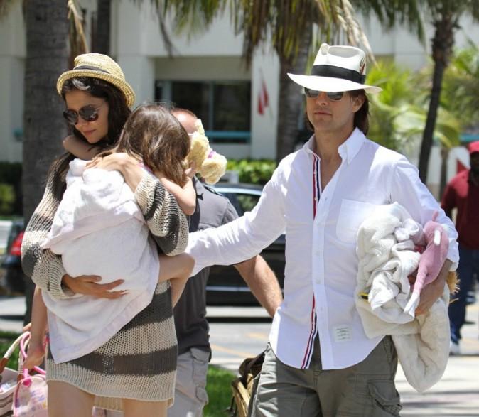 La famille au grand complet, réunie à Miami