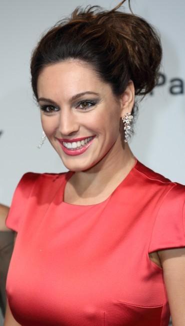 Kelly Brook lors de la soirée Chopard à Cannes, le 22 mai 2012.