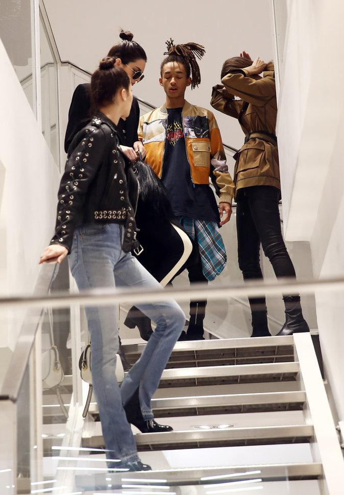 Kendall Jenner Bella Hadid, Jaden Smith et Gigi Hadid ont passé l'après chez Colette