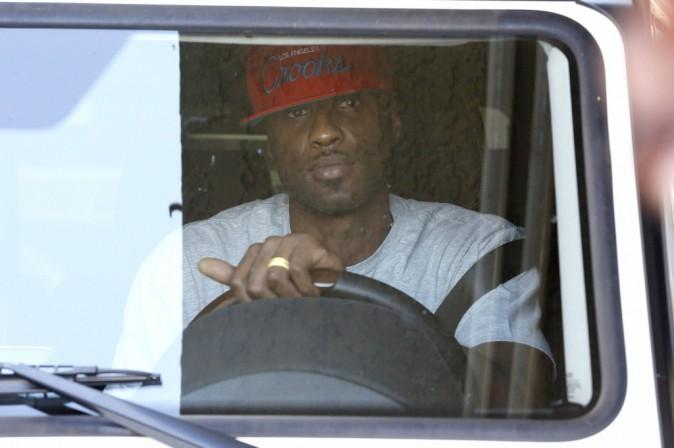 Lamar Odom porte toujours son alliance !