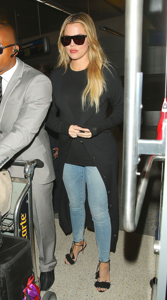 Khloe Kardashian le 15 avril 2015