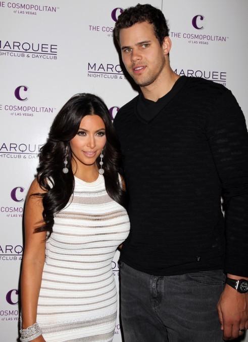 Kim Kardashian et son mari Kris Humphries...