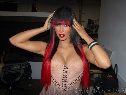 Kim Kardashian dans les premières images de son clip Jam !