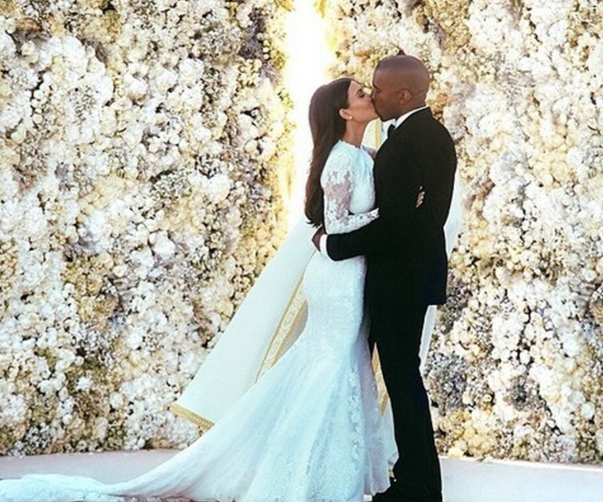 Kim Kardashian et Kanye West f�tent leur 2 ans de mariage : Retour en images sur leur histoire d'amour