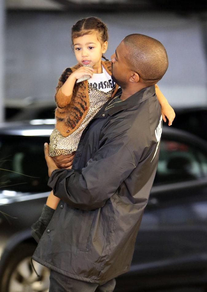 Kanye West est très proche de sa fille