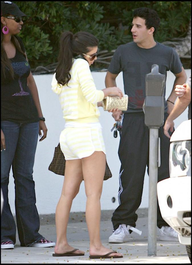 Kim Kardashian en août 2007.