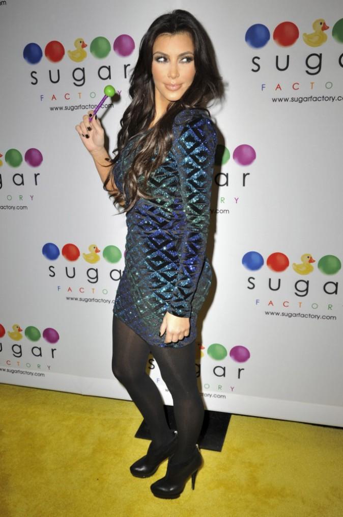 Kim Kardashian en janvier 2010.