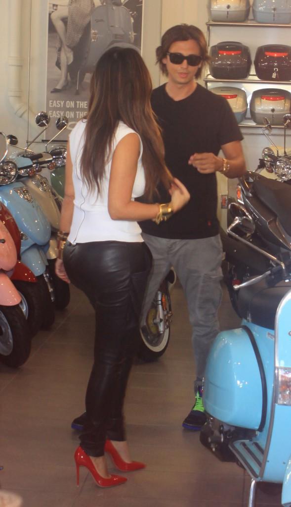 Kim Kardashian en novembre 2012.