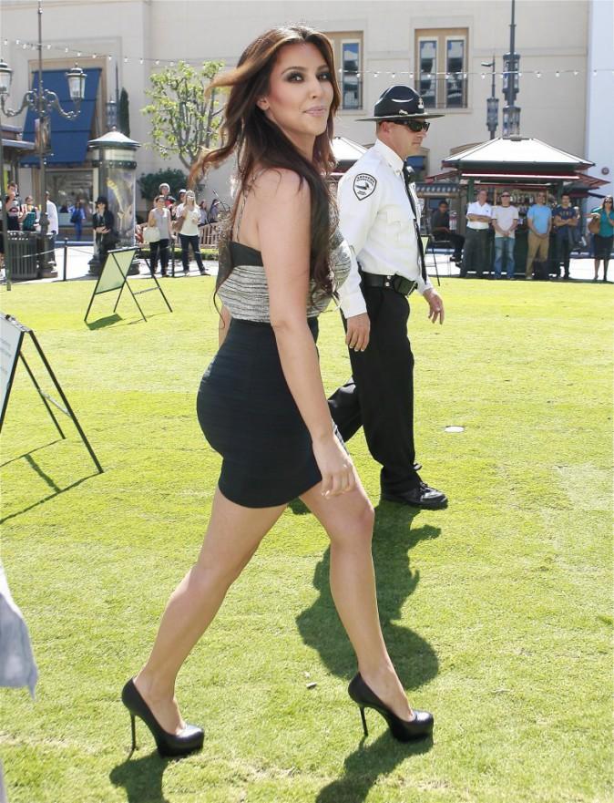 Kim Kardashian en septembre 2010.