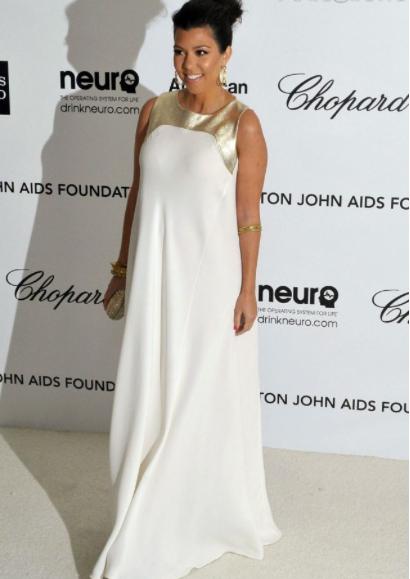 Kourtney Kardashian heureuse et épanouie !