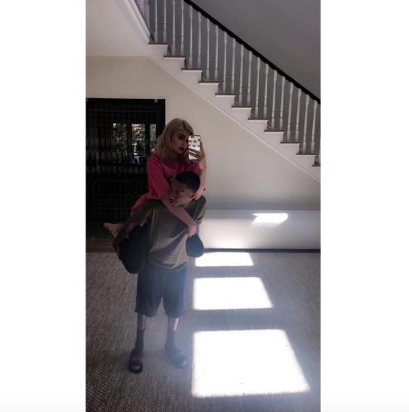 Kylie Jenner, Tyga et King Cairo passent une belle après-midi en famille