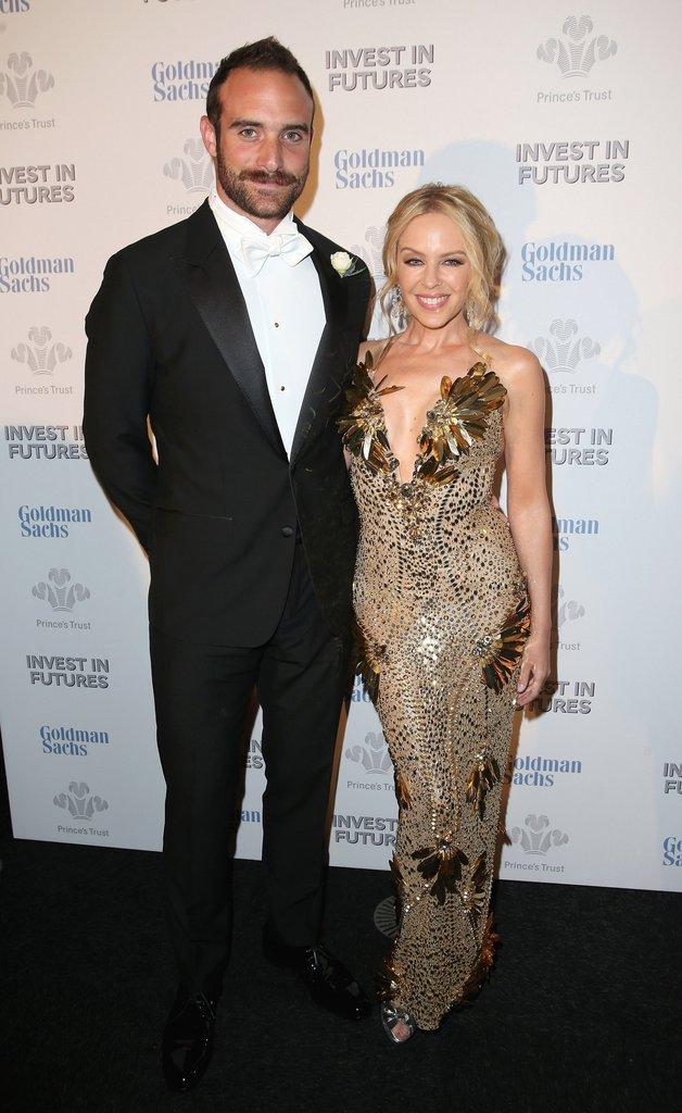 Kylie monogue et son futur mari Joshua Sasse