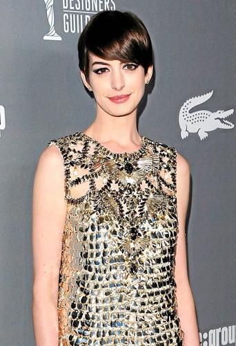 Anne Hathaway au top