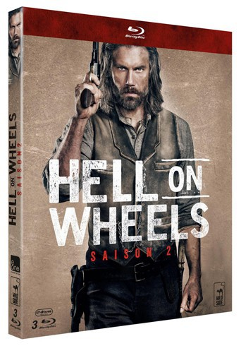 Hell on Wheels, coffret intégral saison 2, Wild Side. 39,99 €.