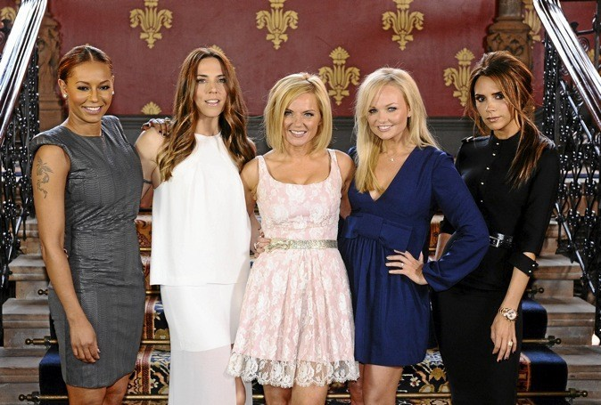 Pour la cérémonie de clôture des Jeux olympiques, les Spice Girls remontent sur scène