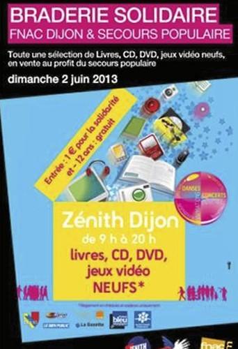 Grande Braderie Solidaire, rue de Colchide 21000 Dijon, entrée à 1€