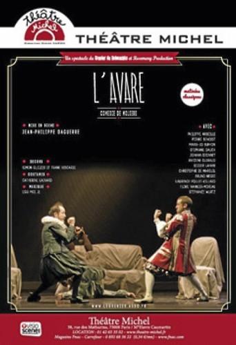 L'Avare au Théâtre Michel.