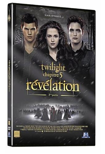 Twilight – Chapitre 5 : révélation, Parties 1 et 2, M6 Vidéo.