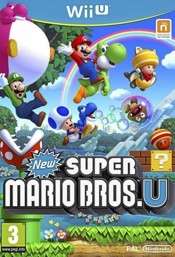 New Super Mario Bros. U, sur Wii U. 50 €.