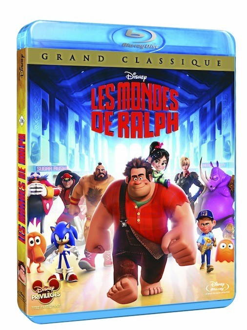 Les mondes de Ralph, Disney. 19,99 € le DVD, 24,99 € le Blu-ray.