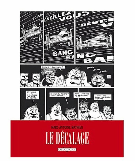 Le décalage, Tome 6, Delcourt. 14,30 €.