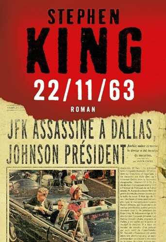 22/11/63, de S. King, Albin Michel. 25,90€.